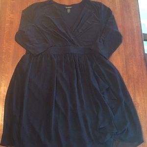 Lane Bryant LBD Sleeved Black Dress, Sz 20